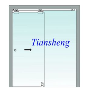 8mm/10mm12mm As2208 Approved Tempered Glass Frameless Folding Door pictures & photos