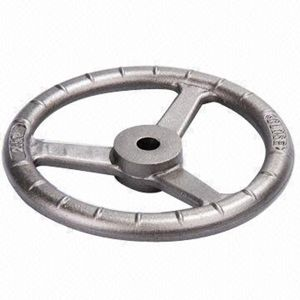 OEM Stainless Steel Carbon Steel Casting for Hand Wheel pictures & photos