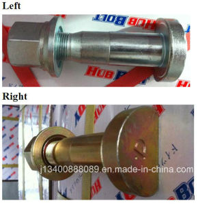 Truck Part- Front Tire Bolt with Cap Nut (Left/Right) pictures & photos