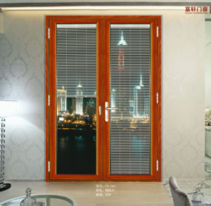 Aluminium Sliding Window with Blind Inside pictures & photos