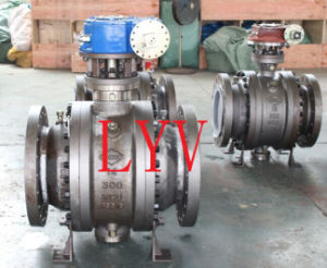 Fixed Ball Valve Trunnion Mounted Ball Valve pictures & photos