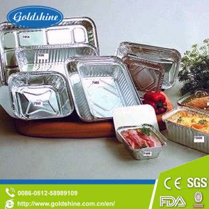 Aluminium Foil Egg Tart Container with SGS pictures & photos