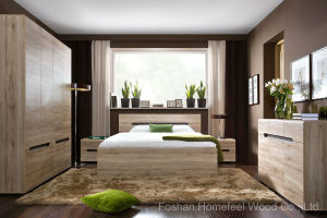 Fashion Color Mixed Bedroom Set (HF-EY08116) pictures & photos