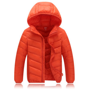 Children Girls Cute Winter Warm Hooded Down Jacket Wear Rabbit Coat High Quality 601 pictures & photos