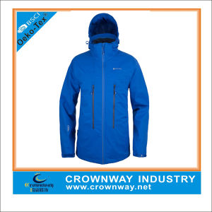 Breathable Packable Rain Waterproof Jacket for Men pictures & photos
