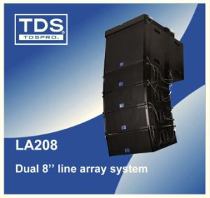 Dual 8 Inch Line Array PA System with Two Neodymium Compression Drivers with Fast Installation Rigging System. pictures & photos