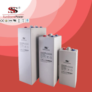 Sunstone Brand Opg Series 2V 350ah Gel Deep Cycle Opzv Battery Solar Battery pictures & photos