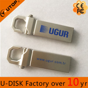 Silvery Hot Hook USB Flash Drive, USB 3.0 Hight Speed USB Stick pictures & photos