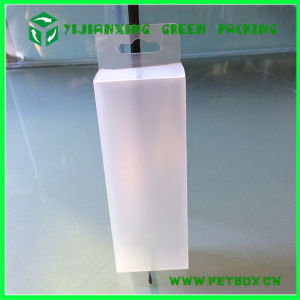 Pet Plastic Custom Transparent Packaging Box