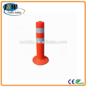 Removable 450mm Road Reflective Flexible Plastic Bollards for Parking pictures & photos