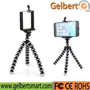 Universal Mini Flexible Tripod Phone Holder (GBT-B013) pictures & photos