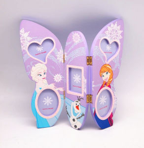 Glittered Wooden Kids Picture Frame pictures & photos