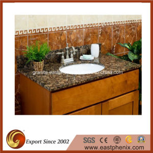 Natural Baltic Brown Granite Vanity Top for Kitchen/Bathroom/Hotel/Commercial pictures & photos