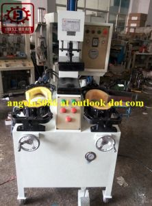 Vertical Front and Back Side Pressing Machine for Shoe Manufactory pictures & photos