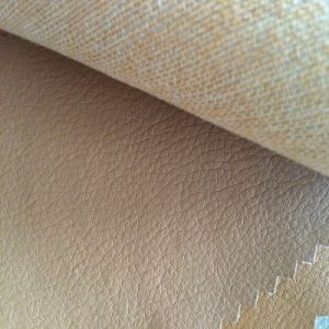 China Manufacturer Synthetic Fabric PU Leather pictures & photos