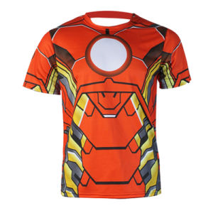 T-Shirt Factory Cheap Fashion T-Shirt with Allover Sublimation Printing pictures & photos