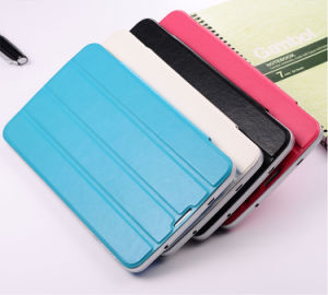 Private Model MID 7 Inch Mtk6572 3G Phone Calling Android Tablet PC with Leather Cover pictures & photos