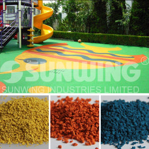 Hot Sale Low Prices EPDM Rubber Granules for Children pictures & photos