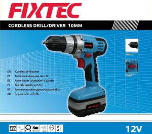 Fixtec 12V Cordless Drill of Battery Power Drill pictures & photos