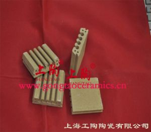Ceramic Refractory Supporting Plates for Heating Elements pictures & photos