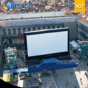 Large TV Cinema Rear Projection Screens Events Inflatable Movie Screen