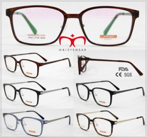 Tr90 Optical Frame with Metal Temple in Stock (9035) pictures & photos