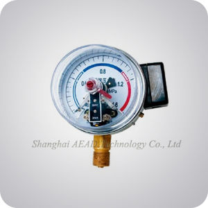 Shatter Proof Electrical Contact Pressure Gauge pictures & photos