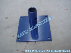 Frame Base Plate Scaffolding Construction System PC Blue pictures & photos