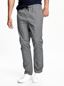 Adjustable-Waist Twill Joggers Men Long Pant pictures & photos