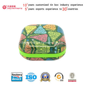 Wholesale Square Tin Box for Cookies (S001-V17) pictures & photos