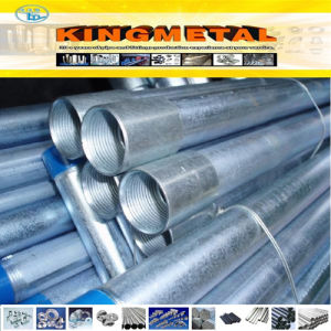 BS1387 Q235/Q195 Carbon Steel Seamless Galvanized Steel Pipe pictures & photos