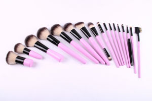 Professional Cosmetic Makeup Brush Set with Synthetic Hair pictures & photos