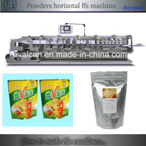 Automatic Powder Form Fill Seal Packing Machine with Stand-up Pouch pictures & photos