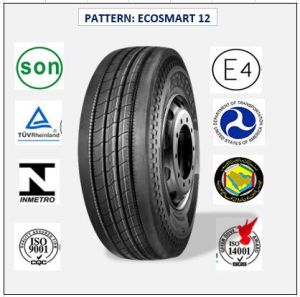All Steel Radial Truck & Bus Tires with ECE Certificate 255/70r22.5 (ECOSMART 12) pictures & photos
