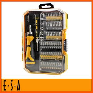 2014 New Multi Tool Screwdriver Ratchet Bits, Promotional 69PCS Ratchet Bit Set, Hot Sale Professional Ratchet Bit T18A065 pictures & photos