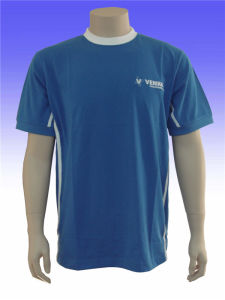 Men′s Dry Fit Polyester Sports Running T-Shirt pictures & photos