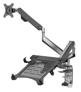 "Desktop Mount Double Arm for 10 to 30"" Monitor (DLB902-LP) pictures & photos"