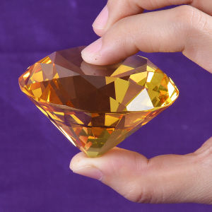 60mm Multi Color Crystal Glass Diamond for Paperweight Decoration, 8PCS/Set pictures & photos