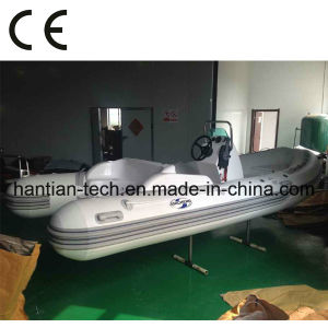 4.7m CE Standard Inflatable Fiberglass Boat for Sale (RIB470C) pictures & photos