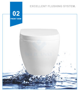 Weidansi Ceramic High-End Wall Hung Toilet (WDS-6304) pictures & photos