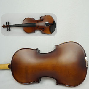 Dark Brown All Solid Primary Purflied Violin Outfits pictures & photos