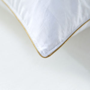 Soft Filling White Goose Down Pillow for Home pictures & photos