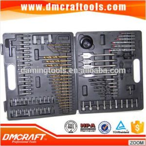 110PCS HSS Combination Drill Bit Sets with Blow Mold Case pictures & photos