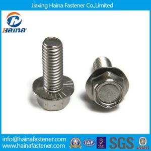 DIN6921 Customized Stainless Steel Hex Flange Head Bolts pictures & photos