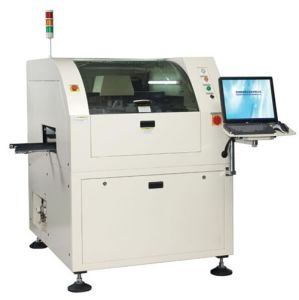 Fully Automatic Solder Paste Screen Printer for PCB Assembly pictures & photos
