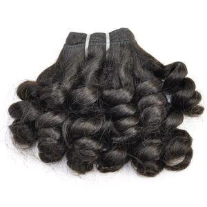 Funmi Curly Peruvian Virgin Human Hair Extension Lbh 062 pictures & photos