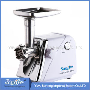 Electric Meat Grinder Mince Machine with Reverse Function, Sf3058.