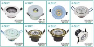 LED Recessed Lights, LED Ceiling Light, Indoor Ceiling Light, Professional 5W LED Cabinet Light with 45 Degree pictures & photos