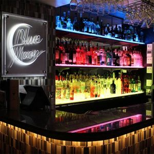 Chinese LED Acrylic Display, Wine Cabinet with LED Bulb pictures & photos
