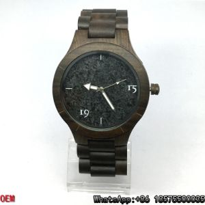 Top-Quality Wood/Ebony Watch, Quartz Watch, Marble Watch Hl04 pictures & photos
